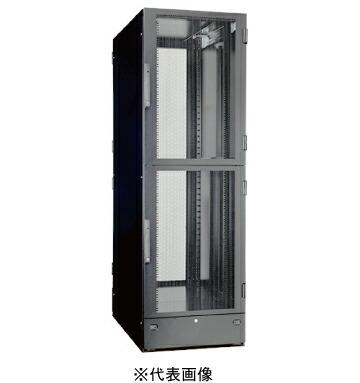 日東工業AHSH100-722EK-4HシステムラックAHSHハウジングタイプW=700 h=2200 D=1000mmEIA=10Ux4色:ぺールホワイト塗装