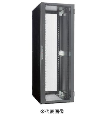 セール品 システムラック AHST 耐震タイプ W=600mm 新作多数 日東工業AHST110-622EKシステムラックAHST耐震タイプW=600 h=2200 D=1100mmEIA=47U色:ブラック塗装