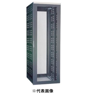 ★日本の職人技★ FSシリーズW=600 日東工業FSS100-616EKNシステムラックサーバ収納タイプ D=1017EIA=33U色:ブラック塗装:電材BlueWood h=1600-木材・建築資材・設備