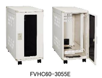 日東工業FVHC60-45055E小型システムラックHUB 収納キャスター付タイプW=450 h=600 D=600mmEIA=7U色 D=600mmEIA=7U色 ぺールホワイト, 水戸市:16088957 --- sunward.msk.ru