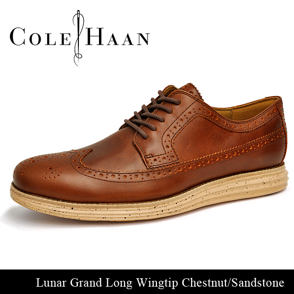 Cole Haan Luna Grand long wing chestnut / sandstone COLE HAAN LUNARGRAND  LONG WING CHESTNUT/SAND STONE