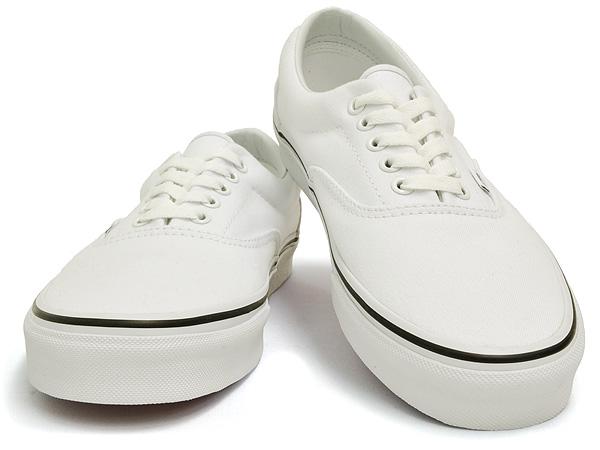3c02cf4eb22c58 Vans Ella true white white VANS ERA TRUE WHITE vans simple fashionable low  cut canvas sneakers lightweight men and women mens   ladies   kids school  ...
