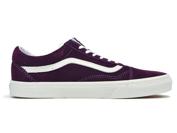 vans old skool vintage purple
