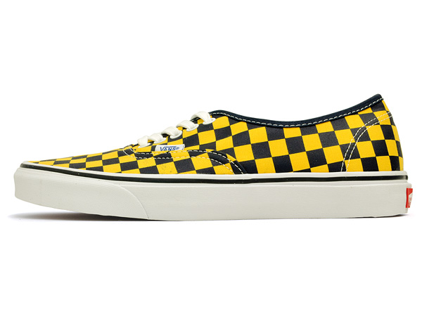 7b59a58bf79f91 black and yellow checkered vans   Come and stroll!