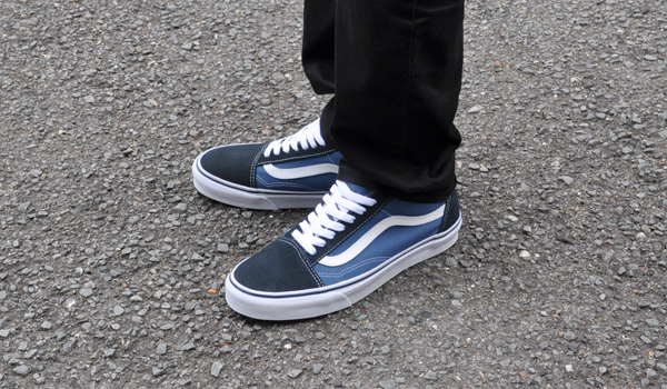 7077c445e8ec Vans sneakers mens old school Navy VANS OLD SKOOL NAVY VN000D3HNVY D3HNVY