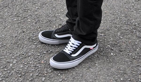 25aa33d868e Vans sneakers mens old school Pro black   white VANS OLD SKOOL PRO BLACK WHITE  VN000ZD4Y28 ZD4Y28