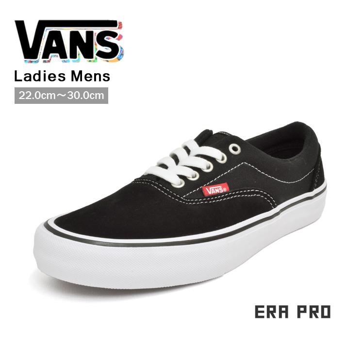 VANS ヴァンズ エラ プロ スニーカー メンズ レディース ブラック/ホワイト/ガム バンズ ERA PRO VN000VFB9X1