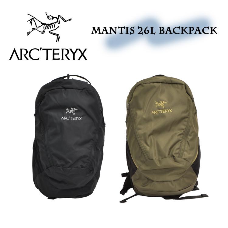 アークテリクス マンティス 26 バックパック メンズ レディース リュック 26L arc'teryx MANTIS 26 7715