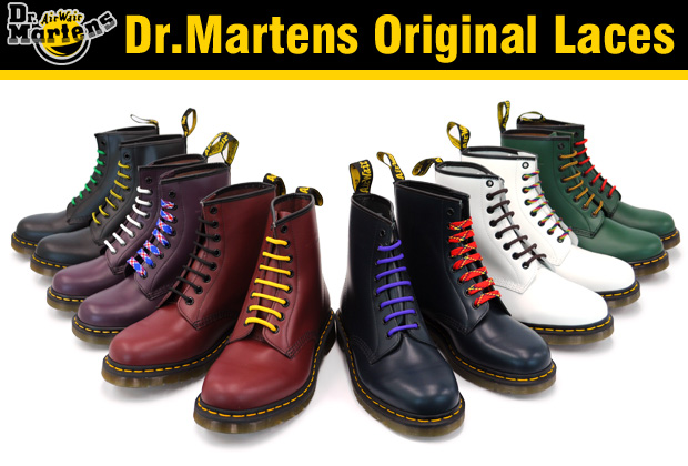 Dr Martens Laces Black