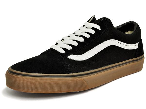 9e381330fc5ce0 denpcy  Vans old skool (gum sole) black VANS OLD SKOOL