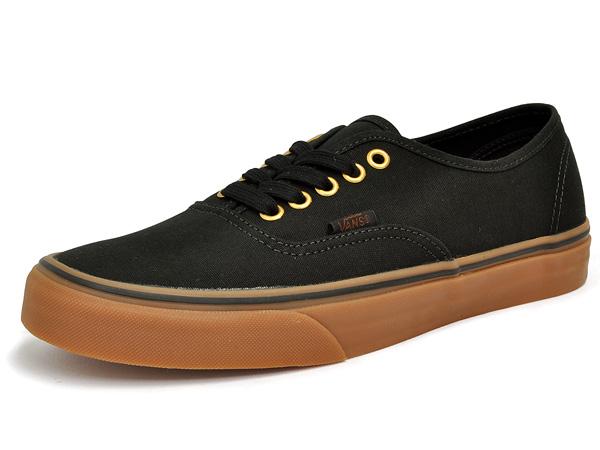 1aca6f34a8 Vans authentic black   rubber black tea VANS AUTHENTIC BLACK RUBBER vans  simple casual fashionable lightweight low-cut canvas sneakers men mens shoes  ...