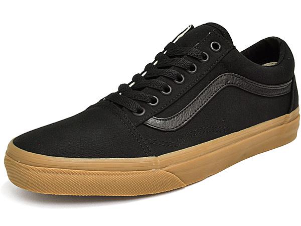 Vans sneakers mens ladies old school (canvas gum) black / light game VANS OLD SKOOL CANVAS GUM BLACK/LIGHT GUM VN0A31Z9L0D