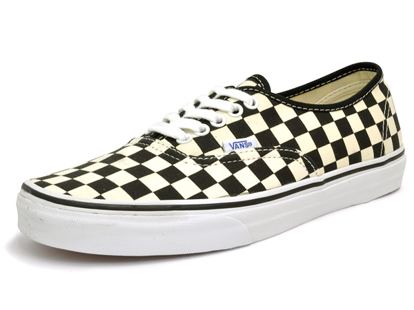 87ed5bce9ac1 Vans authentic (many) black and white Checker VANS AUTHENTIC (GOLDEN COAST)  BLACK WHITE CHECKER black white check vans cut classic sneakers mens skate  shoes ...