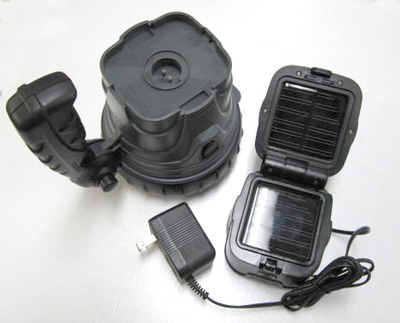 Waterproof solar charger 1W power LED lights