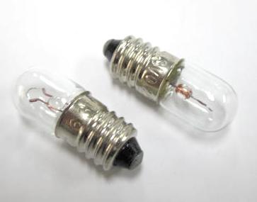 소형 백열전구 6.3 V 0.25 A 2개