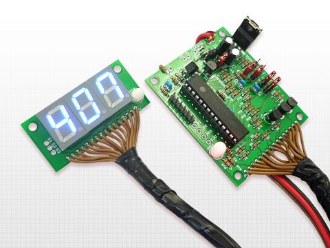 電子工作キット(デジタルスピードメータ)