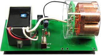 電子工作イオン発生キットIG8(組立済)