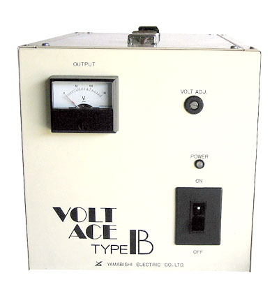 安定化電源(AVR摺動方式、単相2線タイプ)1kVA ACE-1K-B