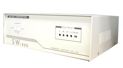 周波数変換器(入出力=単相100V系)0.5KVA SW-500