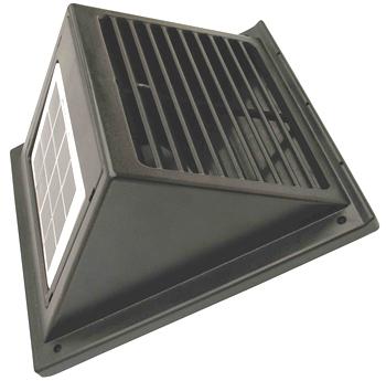 充電池/スイッチ組込ソーラーファンC-0706