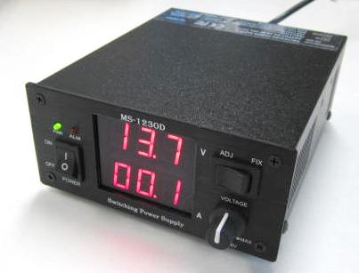 4-16V/25Aデジタル電圧可変式電源 MS-1230DB