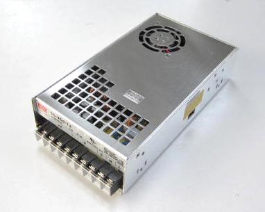 メタルフレーム 12VDC/37.5A スイッチング電源450Wシングル出力 SE450-12