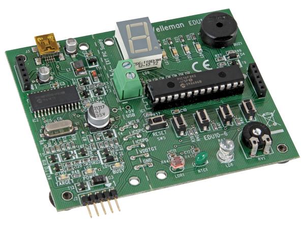 USB PIC プログラマー・チューターキット EDU10