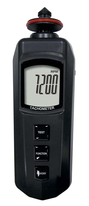 RS232 PCインターフェース 接触/非接触タコメーター DT-2230
