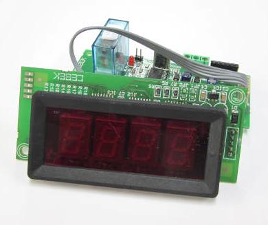 7セグLED表示付リレータイマー1秒~99分/1分~99時間 I-203