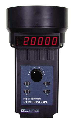 ACタイプ デジタルストロボスコープ(60~30000RPM)DT-2249A