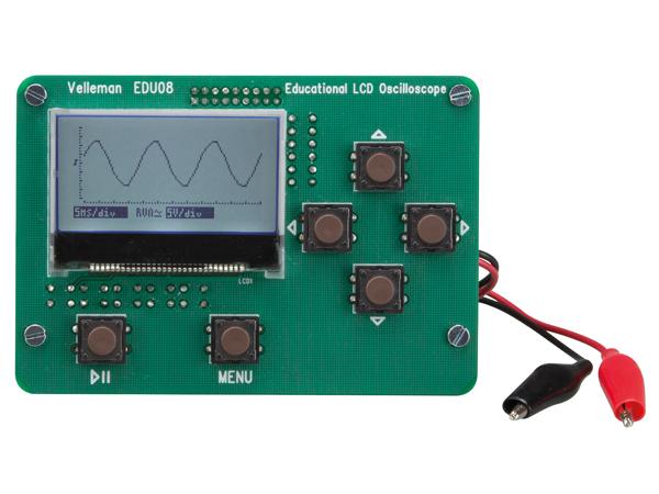学習用LCDオシロスコープEDU08組立済