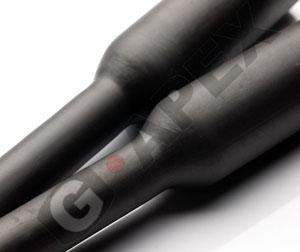 G5-135℃ 難燃タイプ熱収縮チューブ(38.1mmx50m巻 黒)