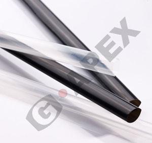 HTK150 150℃高耐熱PVDF製熱収縮チューブ(38.1mmx1.2m 透明 10本)