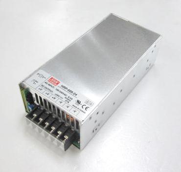メタルフレーム 24VDC/27A スイッチング電源600Wシングル出力 HRP-600-24