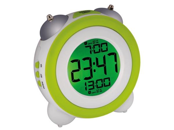 デジタル目覚まし時計+メカニカルダブルベル お気に入り 送料無料