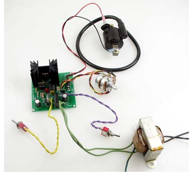 電子工作高電圧電源キットHVPS-01(組立済)