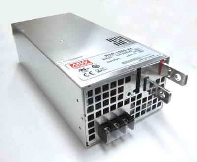 大容量メタルフレーム 24VDC/63A スイッチング電源1500Wシングル出力 RSP-1500-24