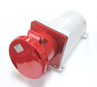 IEC 60309-2 メスソケット - 380-415V~/125A-6h -3極 +アース- IP67(FNP1-144)