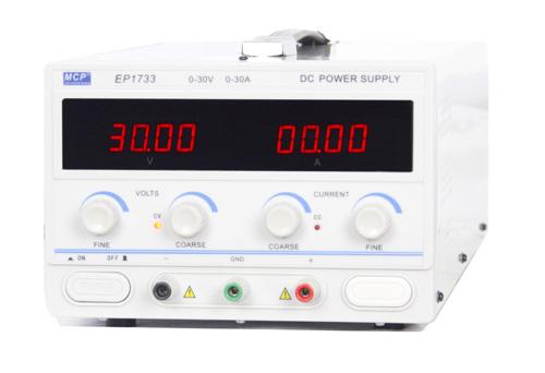 0-30V/0-30A 可変式DC電源 EP1733