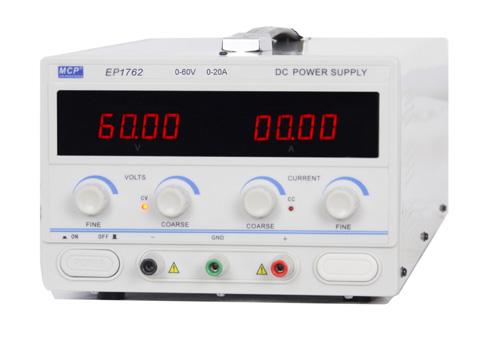 0-60V/0-20A 可変式DC電源 EP1762