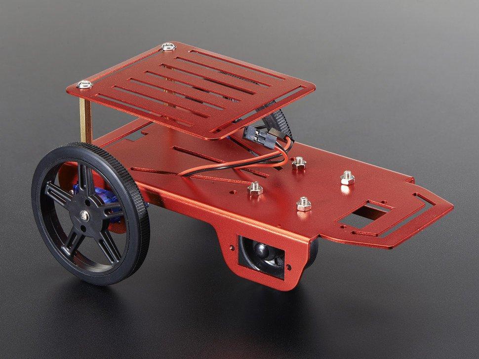ミニロボット用ケースキット(2WD用DCモーター付)2939