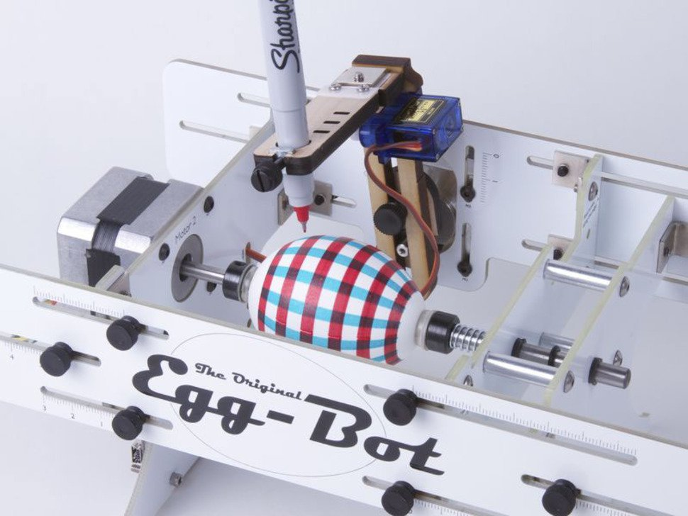 Egg-Bot-Deluxe (卵描画ロボット)組立済品