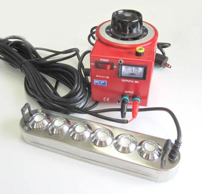 実験用6-H 霧発生体モジュール+電圧スライダー