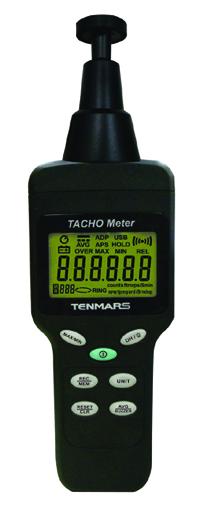 接触+非接触タコメーター+アナログパルス出力ポート付 TM-4100D