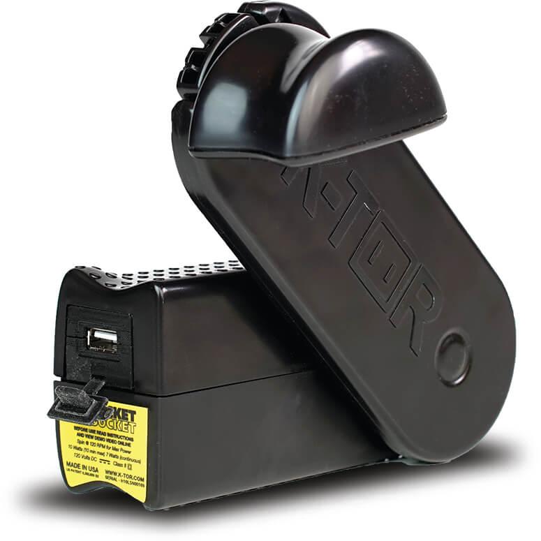 K-TOR USB 5V max.1A 出力手回し充電器