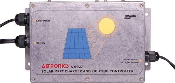 電子工作キット(12/24V MPPTソーラー充電コントローラ)K6027