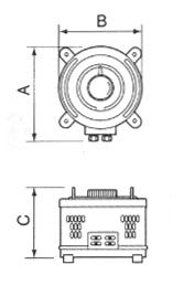 電圧ボルトスライダー 単相100V→0~260V/0.52kVA SS-260-2
