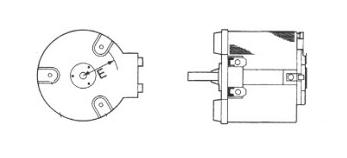 機器取付型ボルトスライダー 100V→0~130V/0.3kVA PS-130-3