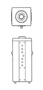 電圧ボルトスライダー 三相380V→三相0~440V/0.66kVA SS3P-440-1