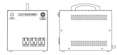 110~125V→100V 海外用トランス(アメリカ用1.5kVA)YA-15